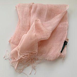 Ralph Lauren Linen Scarf Wrap